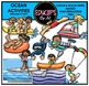 Ocean Activities Clip Art Bundle {Educlips Clipart}