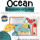 Ocean Activities for Fine Motor Skills - Preschool & Kindergarten