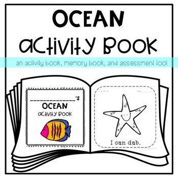 Ocean Activity *Memory* Book for Young Learners or Special Education