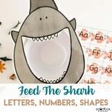 Ocean Activity for Preschoolers - Feed the Shark