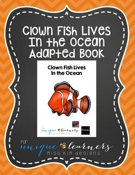 Ocean Adapted Book Bundle: 2 Adapted Books + Free Animal Sorting Task