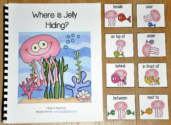 """Ocean Adapted Book--""""Where is Jelly Hiding?"""""""