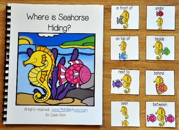 "Ocean Adapted Book--""Where is Seahorse Hiding?"""