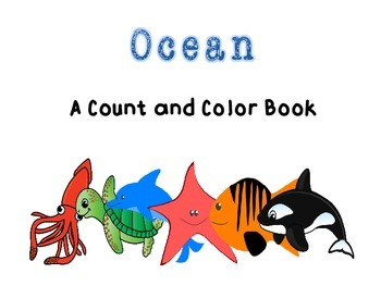 Ocean Adapted Book for Autism and Special Education
