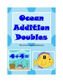 Ocean Addition Doubles Numbers 1-12