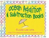Ocean Addition & Subtraction Books
