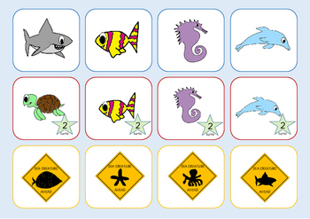 Ocean Adventrue - sight word game