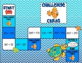 3-Digit Addition Game - Ocean Adventure - 3.NBT.2, 4.NBT.4