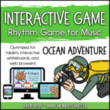 Interactive PDF - Ocean Adventure Sea-themed Rhythm Game