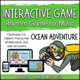 Interactive Rhythm Game - Ocean Adventure Sea-themed Rhythm Game