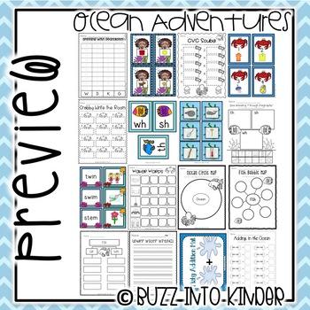 Ocean Adventures - Common Core Standards Included!
