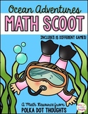 Ocean Adventures Math Scoot {15 Games!}