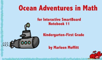 Ocean Adventures in Math for Interactive SmartBoard Notebook 11