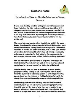 Ocean Adventures in Writing
