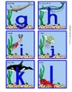 Ocean Alphabet Flashcards Lowercase
