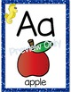 Ocean Alphabet Letter Posters
