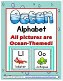 Alphabet Posters - Ocean Theme Classroom Decor