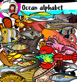 Ocean Alphabet pictures from A to Z.