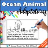 Ocean Animal Adaptations Science Reader Distance Learning