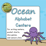 Ocean Animal Alphabet Centers