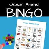 Ocean Animal Bingo