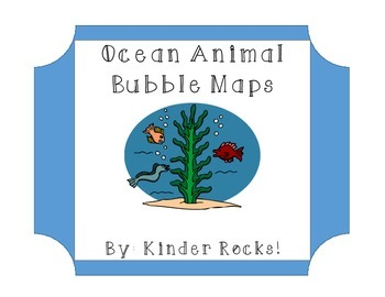 Ocean Animal Bubble Maps