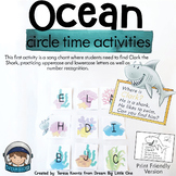 Ocean Animal Circle Time Activities for Preschool and Kindergarten