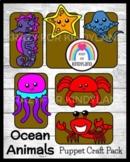 Flash Freebie! Ocean Crafts: Seahorse,Stingray,Jellyfish,Lobster,Crab,Starfish