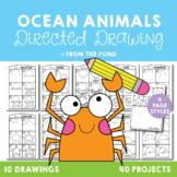 Ocean Animal Directed Drawings {Fun Art + Writing Projects}