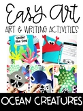 Ocean Animal Easy Art and Writing Activities
