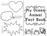Ocean Animal Fact Book {Blank}