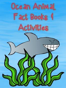 Ocean Animal Fact Books