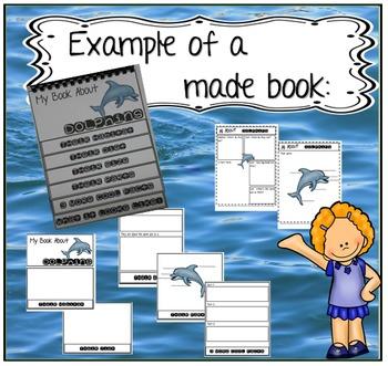 Flip Book BUNDLE- Both Ocean, Arctic & Antarctic Animals Together