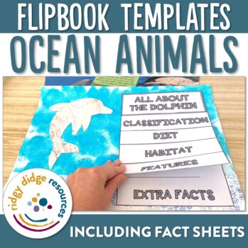 Ocean Animal Flipbooks and Information Sheets