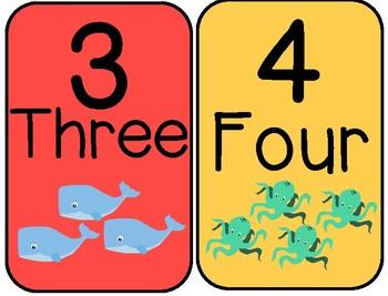 Ocean Animal Group Numbers