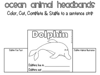 Ocean Animal Headbands
