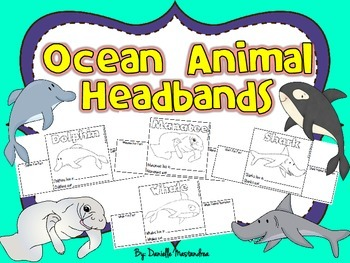 Ocean Animal Headbands