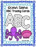 Ocean Animal Letter Tracing Cards
