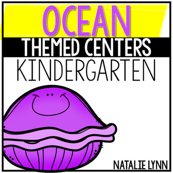 Ocean Animal Math and Literacy Centers
