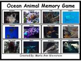 Ocean Animal Memory Game