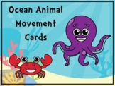 Ocean Animal Movement Cards