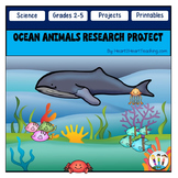 Ocean Animals Research Project & Rubric