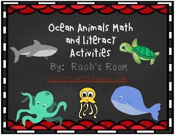 Ocean Animal Culminating Activities