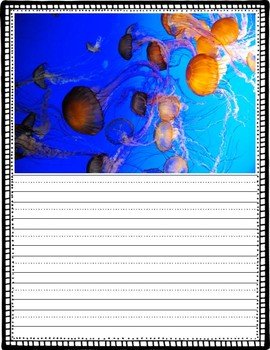Ocean Animal Picture Writing