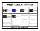 Ocean Animal Poetry Pack