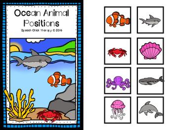 Ocean Animal Positions! Interactive Book