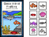 Ocean Animal Positions! Interactive Book