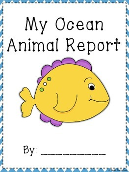 Ocean Animal Research Report and Writing