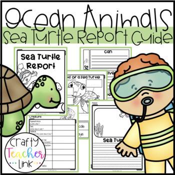 Ocean Animal Report Guides Bundle