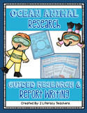 Ocean Animal Research: A Guided Research and Report Writing Pack
